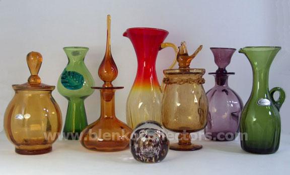 Blenko Collectors Rainbow Glass Company