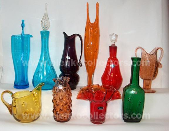 Auctions In Ohio >> Blenko Collectors Bischoff Glass Company