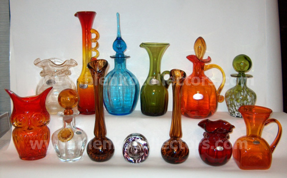 Blenko Collectors Rainbow Glass Company